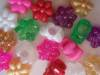 Flower shaped beads