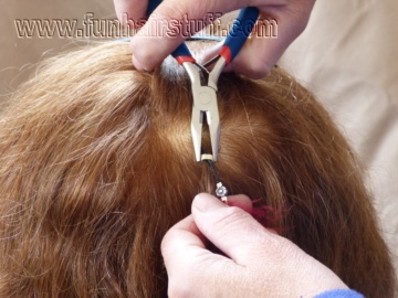 How To Remove Your Feather Hair Extension