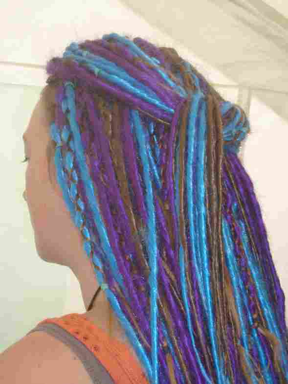Synthetic Dreads Gallery