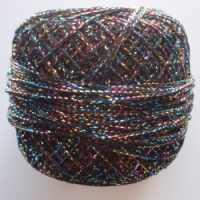 Glitter thread for braiding